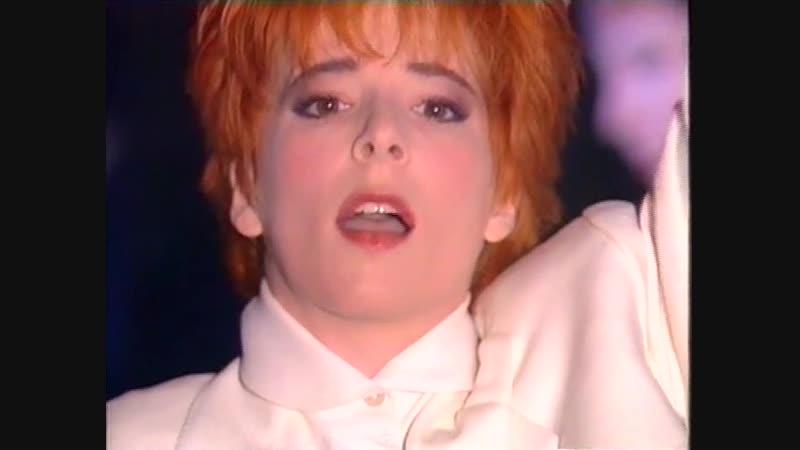 Mylene Farmer - Prestation de Désenchantée et petite interview (Sacrée soirée, TF1, 17/04/1991)