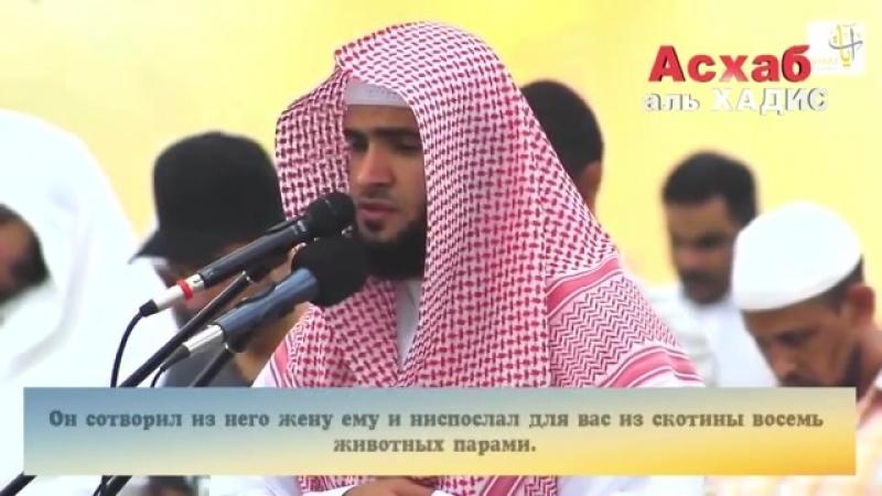 Сальман ал Утайби 2017. Сура 39 аят 1 - 10.mp4