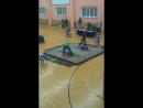 Выступление на турнире по тяжёлой атлетике