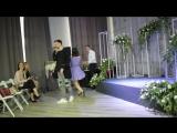Выступление на свадебном семинаре шоу дуэта Они Олег и Ирина Ножкины.