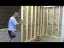 Как построить каркасный дом, инструкция Часть 2 Стены