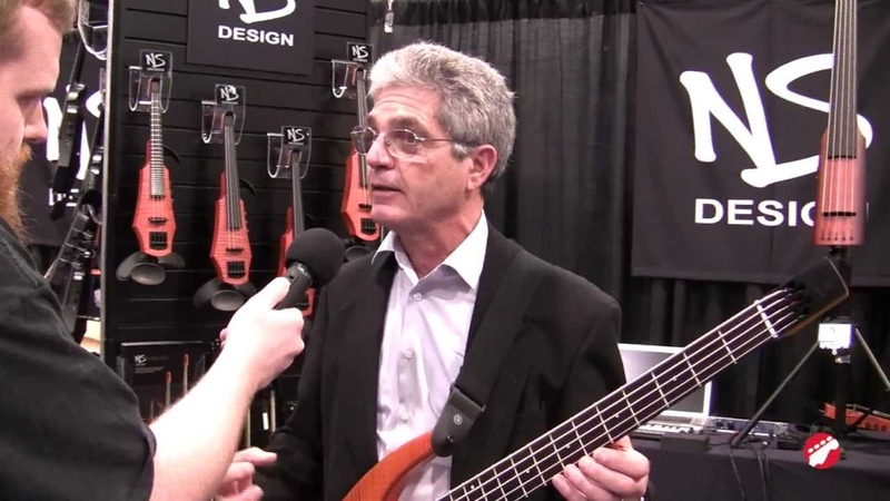 NAMM 2012 New NS Design Headless Bass Guitar Unveil
