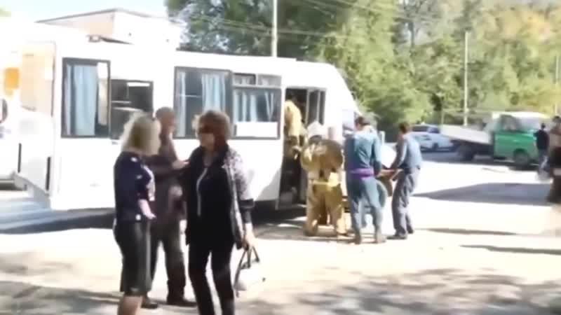 ЧП Теракт в Керчи взрыв в колледже запись разговора ученицы Керчь Крым реалии 2018 трагедия