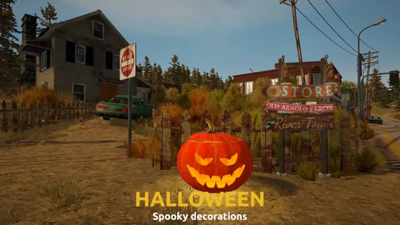 Gold Rush The Game Halloween Time Limited Event Trailer