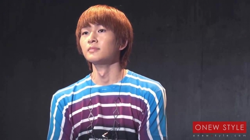110808 SHINee Cute Onew @ Japan Debut Reception Sapporo