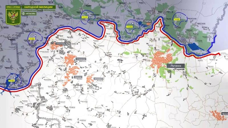 24 сентября 2018 - Обстановка на линии соприкосновения за сутки | Карта обстрелов