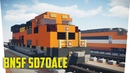 Minecraft BNSF SD70ACe Freight Locomotive Tutorial