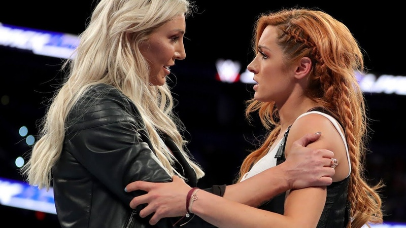 Charlotte Flair returns to stop Carmella's attack on Becky Lynch: SmackDown LIVE, July 31, 2018 HD