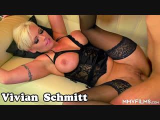 Vivian schmitt. отличный секс с шикарной мамкой в чулках. зрелая шлюха милфа анал трах сиськи mommy anal ass milf cougar porn