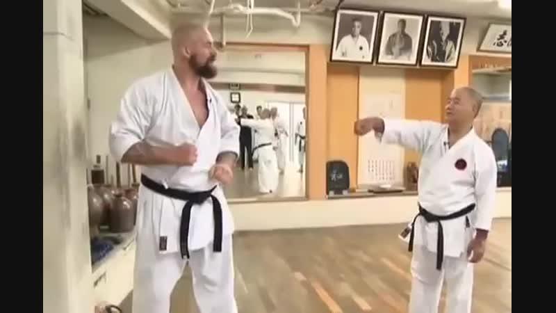 Сергей Бадюк и Стальной кулак Окинавы