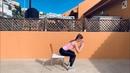 Приседания на стул упражнение для домашних тренировок