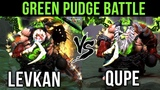 Levkan vs Qupe Best Pudges in Dota 2 - EPIC Green Pudge Battle - Gameplay Compilation