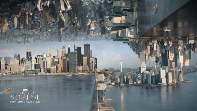 Behind the Magic Creating the Mirror Dimension in Doctor Strange