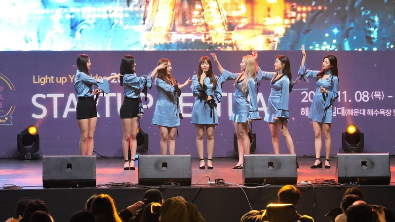 [FANCAM] 181109 SONAMOO - I (Knew It), I Like U Too Much, Talk About U, Friday Night @ Busan Haeundae Startup Festival 2018