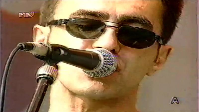 Nautilus Pompilius - Колеса Любви (Московский Олимпийский Рок-Фестиваль Европа Плюс,Стадион Динамо, 22.06.1996)