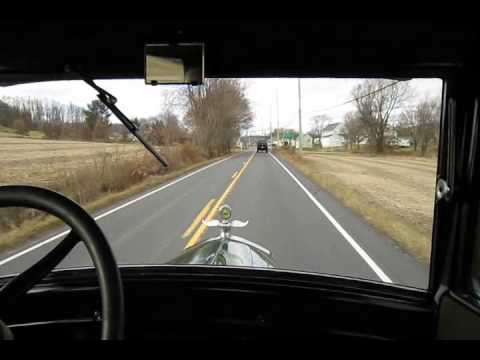 Beautifully Restored 1926 Model T Ford Tudor Driveby And Road Test