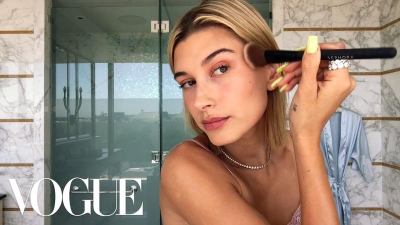 Hailey Baldwin's 5 Step Guide to Faking a California Glow Beauty Secrets Vogue