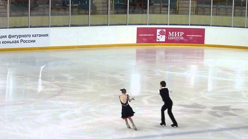 Широхова-Назаров, ПТ, Russian Juniors 2014