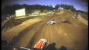 MXGP of Latvia 2013 - Mel Pocock and Aleksandr Tonkov Crash - Motocross