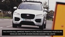 New Jaguar Land Rover technology will help drivers avoid red lights
