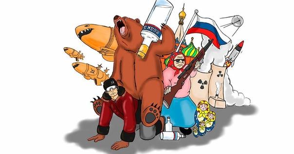Правда о том, откуда берутся мифы о русских Если у вас отменное чувство юмора и недюжинная фантазия, почему бы ими не блеснуть перед иностранцамиРождество. Жена с дочерью готовят праздничный