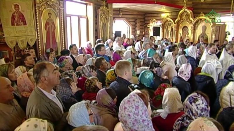 Божественная литургия 18 августа 2018 г. в г. Нарьян - Мар. Богослужение возглавил Патриарх Московский и всея Руси Кирилл.