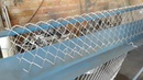 Простейший станок для плетения сетки рабицы