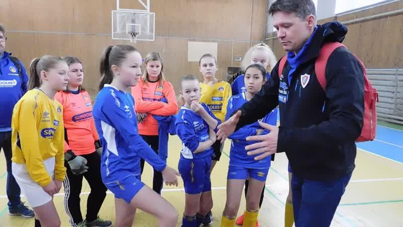 11.11.2018 Футбол, девочки. Норвегия 1 - Норвегия 2, дс Строитель ч.1