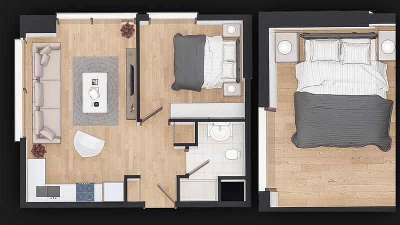 Floor Plan Design With Lumion 8 Pro by Fatih Ekşi