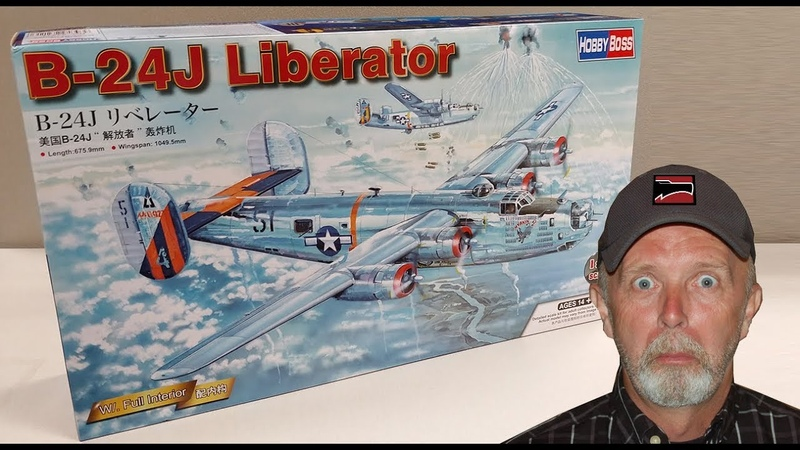 FIRST LOOK 1 32 Scale B 24J Liberator from HobbyBoss