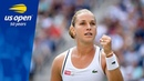 Dominika Cibulkova Shocks A Kerber in Three Sets in R3 of the 2018 US Open