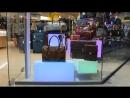 Оформление витрины, светящиеся кубики со светодиодной RGB подсветкой