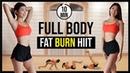 10 минутная жиросжигающая кардио тренировка всего тела ВИИТ 10 min Full Body HIIT FAT BURN CARDIO for Abs Arms Legs Back Sliming NO EQUIPMENT ◆ Emi ◆