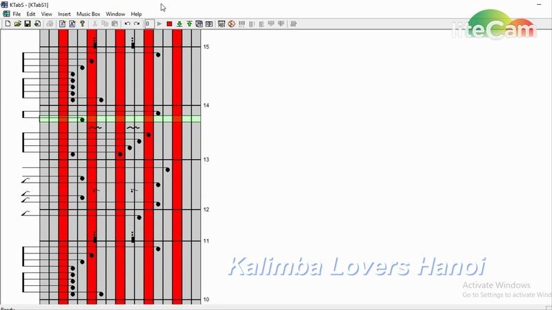 Hướng dẫn kalimba - Tab Mình Cùng Nhau Đóng Băng - Thùy Chi