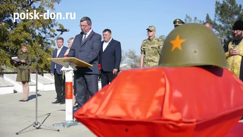 Возвращение солдата. Сальск 16.10.2018