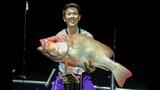 Red Snapper took the mackerel rig on Penn Clash 4000!