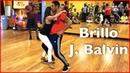 J Balvin - Brillo (Letra) ft Rosalía | Brazilian Zouk Dance | William Teixeira Paloma Alves