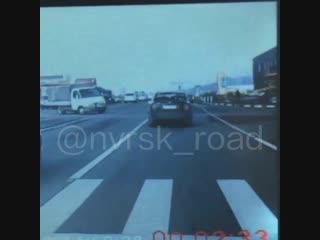 16.11.18 видео момента ДТП поворот на Гайдук, район Метро