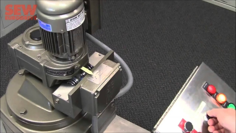 SEW-Eurodrive TS Torque Monitoring Gearbox System Option Overview