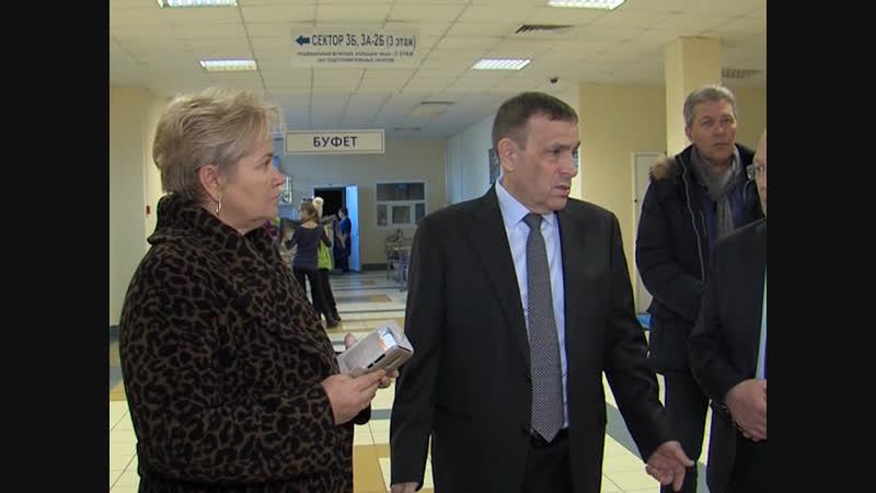 В преддверии Всероссийской Спартакиады инвалидов Александр Евстифеев осмотрел спортобъекты