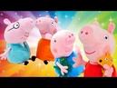 Juegos de familia Peppa Pig Vídeos de juguetes peluches