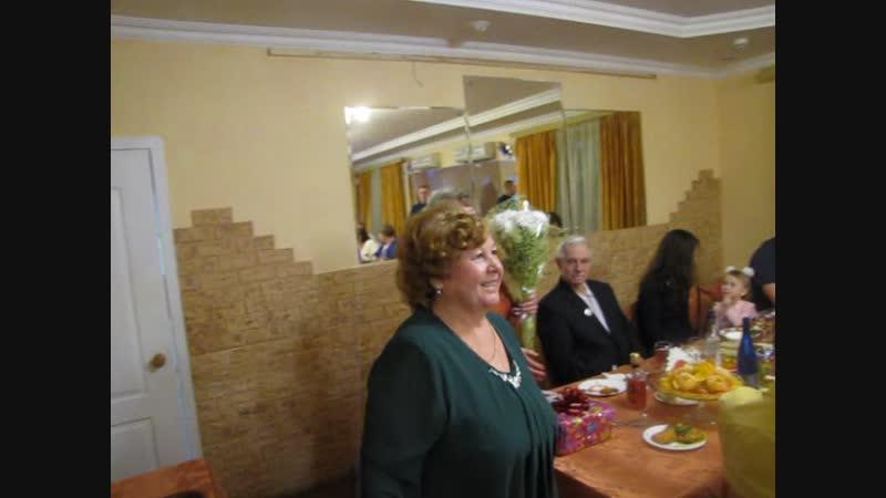 Юбилей сестры Люды 70 лет