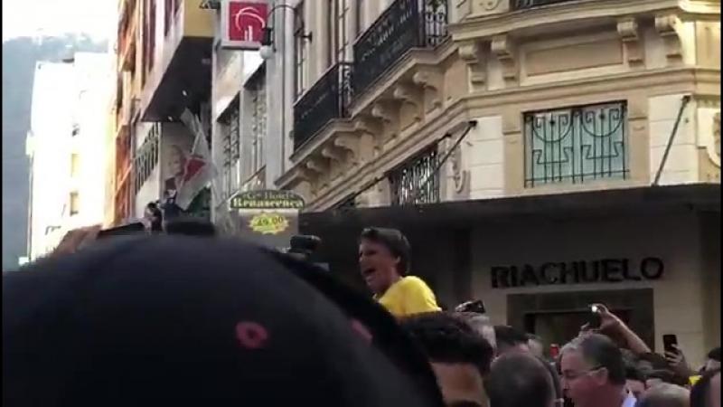 Ataque a Bolsonaro