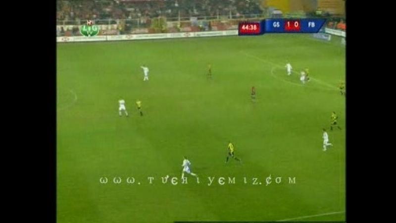 G.SARAY 1-0 F.BAHCE 27.04.2008