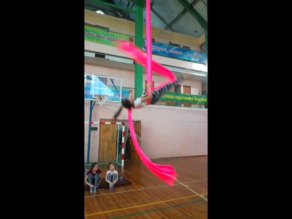 Шайдуллина Яна Срыв Воздушная акробатика г Сибай