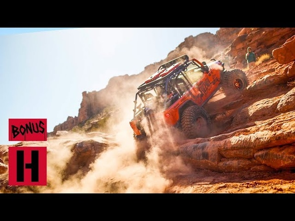 Smashing Moab In Monster Jeeps