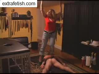 new slave heel abuse
