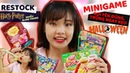 Restock lại SLIME trong HARRY POTTER MINIGAME Bánh Kẹo HALLOWEEN