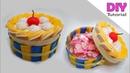 Cara mudah menghias toples kue Toples hias kue lebaran Tempat permen flanel