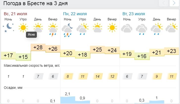 Грозы, ливни, шквалистый ветер. На понедельник объявили оранжевый уровень опасности
